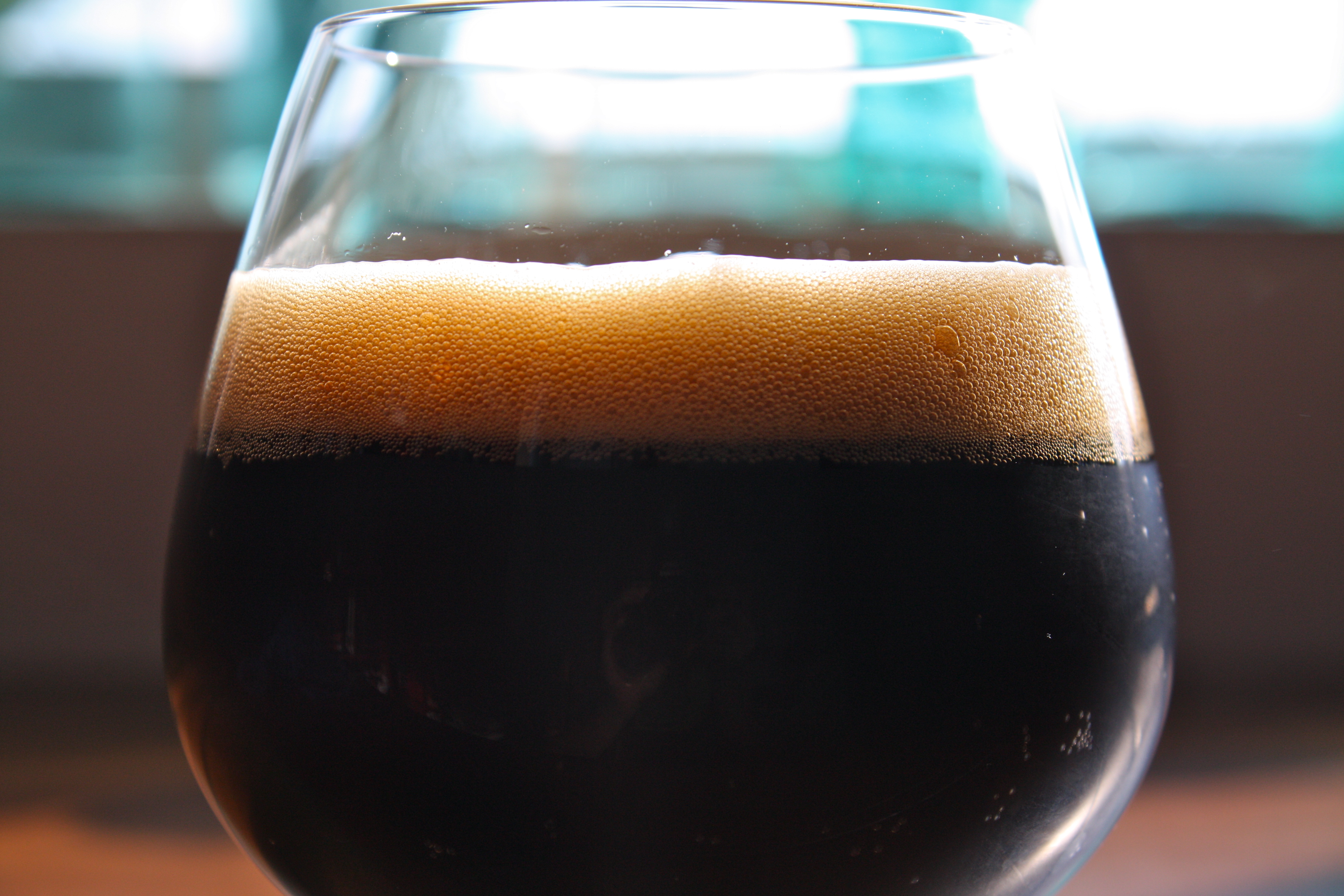 stout beer sample